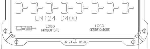 marcatura EN 124 chiusini