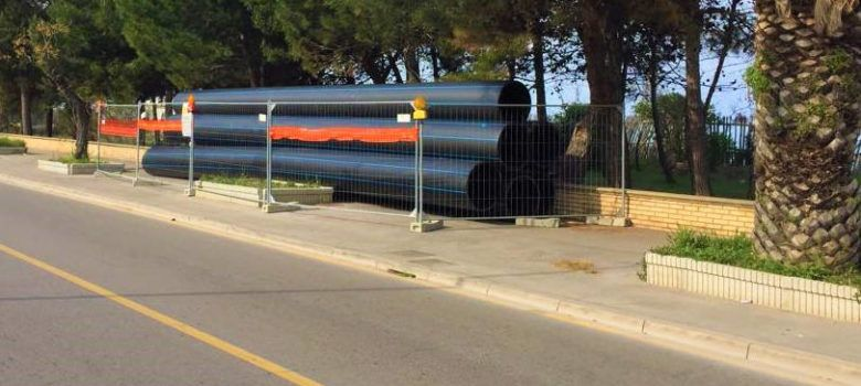 cantiere Pescara sud DN 800P