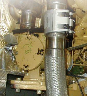 Giunto Teekay Axiflex REP esempio motore