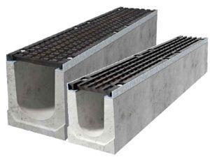 Canali in cemento